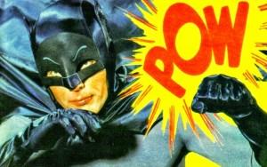 Batman rockin' the onomatopoeia.
